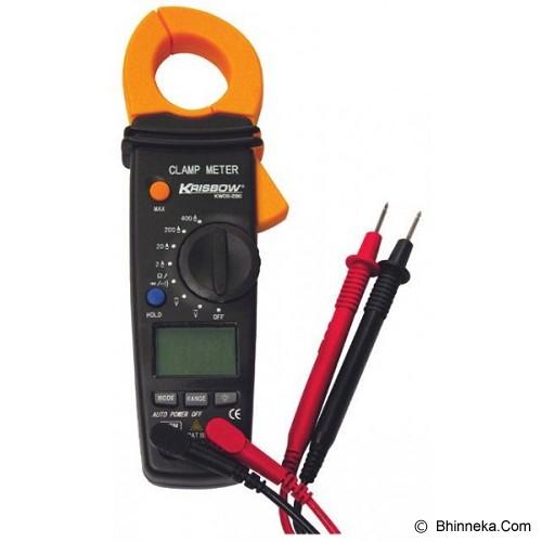 KRISBOW Clamp Meter [KW0600286] - Tester Listrik